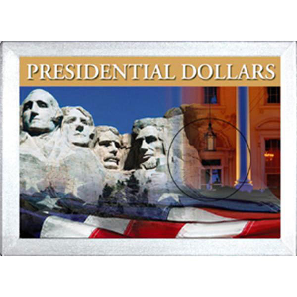 H.E. Harris Frosty Case - 2x3, Presidential Dollars 1-Hole