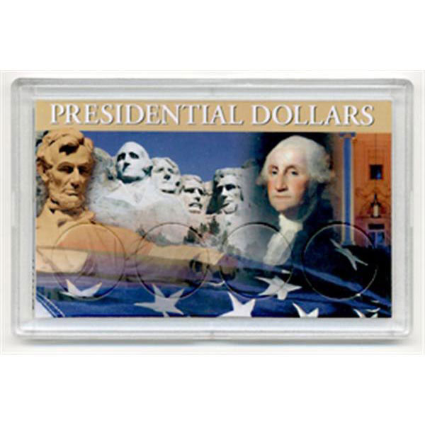 H.E. Harris Frosty Case - 3x5, Presidential Dollars 4-H