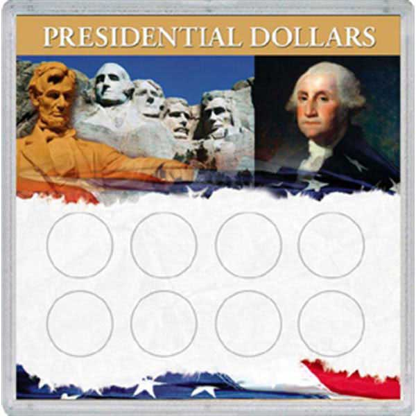 H.E. Harris Frosty Case - 6x6, Presidential Dollars 8-Hole