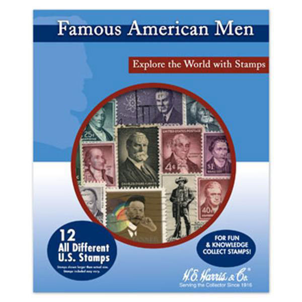 Stamp Pack, Famous American Men