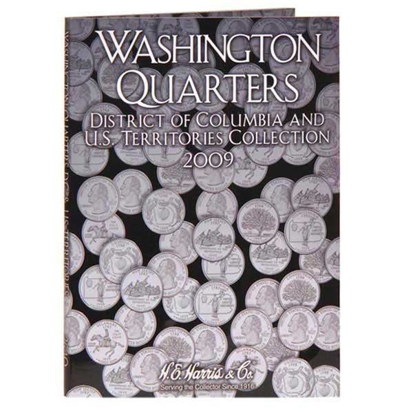 H.E. Harris Coin Folder - Washington Quarter Trust Territories