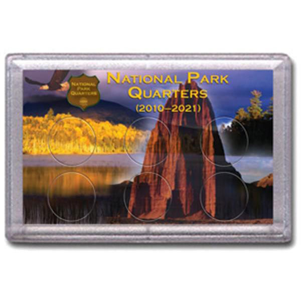 H.E. Harris Frosty Case - 3x5, National Parks Canyon 6-hole