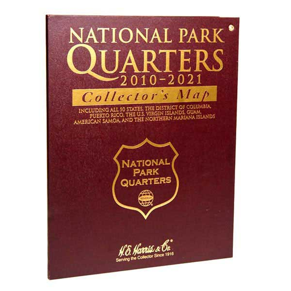 H.E. Harris National Parks Quarters Map