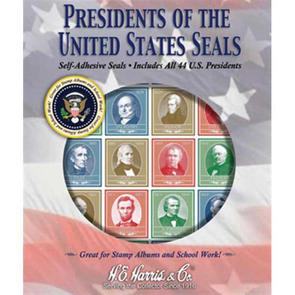 Stamp Pack, US Presidential Seals