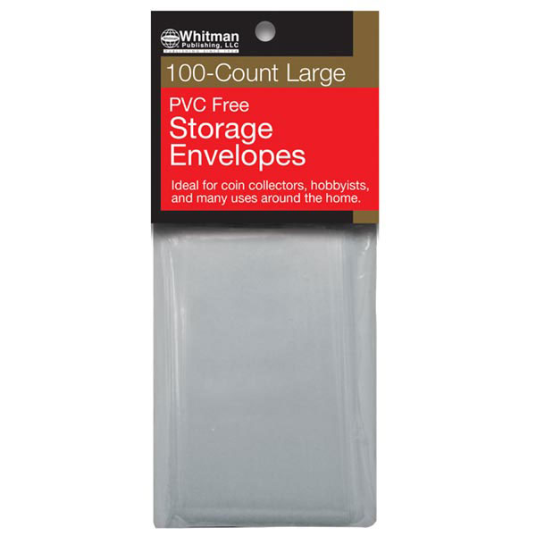 Whitman Poly Envelopes, Large, no PVC