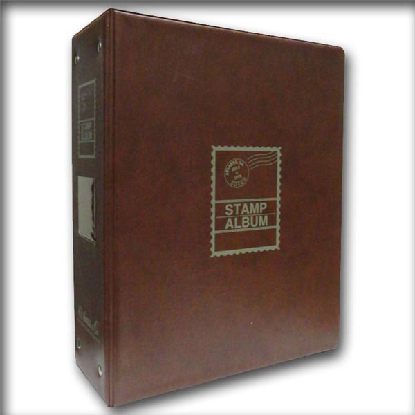 H.E. Harris Album Binder, Worldwide Heirloom 3 1/2''