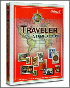 H.E. Harris Album Binder, Traveler