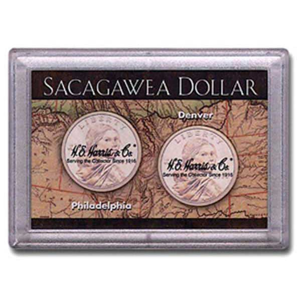 H.E. Harris Frosty Case - 2x3, Sacagawea P&D