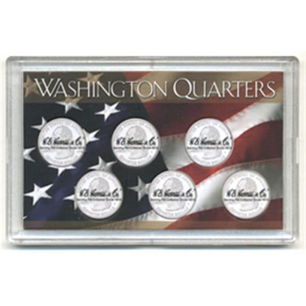 H.E. Harris Frosty Case - 3x5, State Quarters 6-hole
