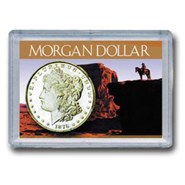 H.E. Harris Frosty Case - 2x3, Morgan Dollar