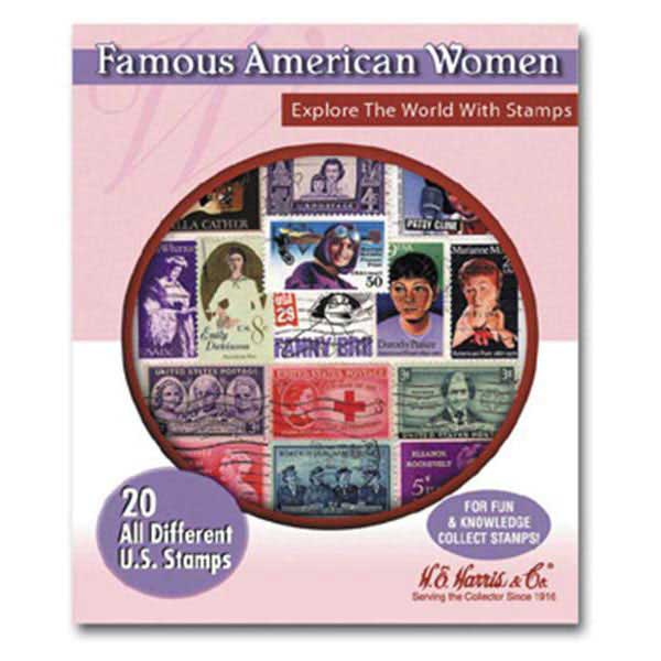 Stamp Pack, Famous American Women