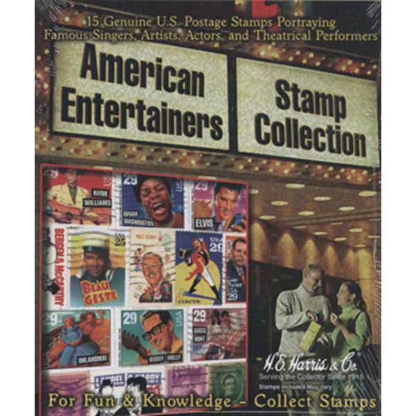 Stamp Pack, Amer. Entertainers