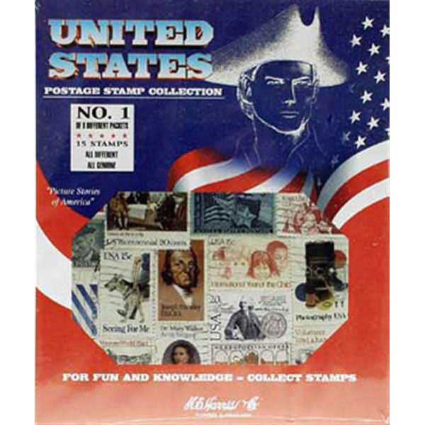 Stamp Pack, US Postage Stamps