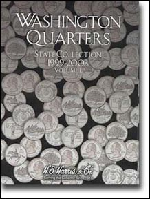 H.E. Harris Coin Folder - State Quarters vol 1 1999-2003