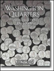 H.E. Harris Coin Folder - State Quarters vol 2 2004-2008