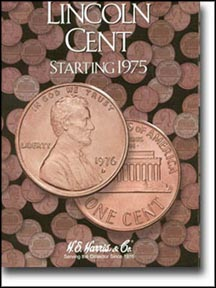 H.E. Harris Coin Folder - Lincoln Cents vol 3 1975-2013