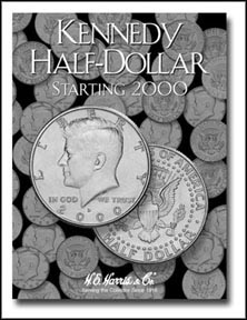 H.E. Harris Coin Folder - Kennedy Half Dollars vol 3 2000-2015