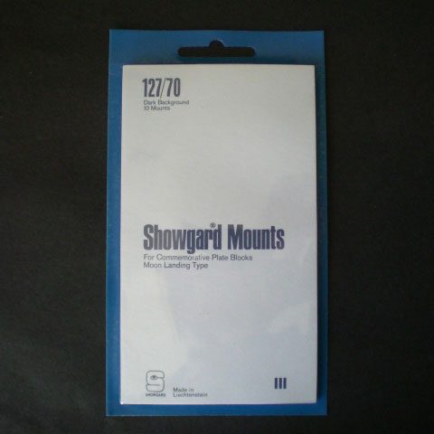 Showgard Mounts - 127/70, Black