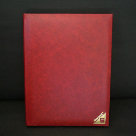 Showgard Strider Stockbook, Red