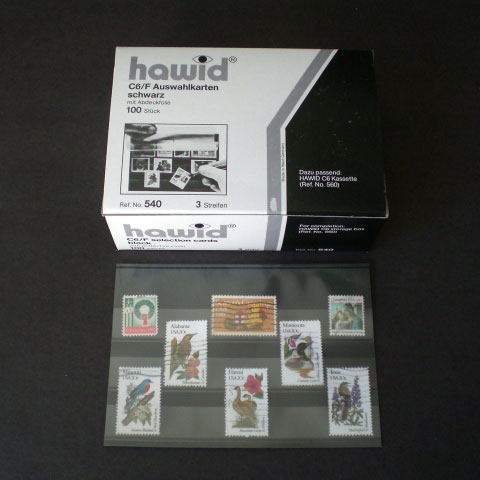 Showgard Selection Cards - Card w/3 Strips & Cover