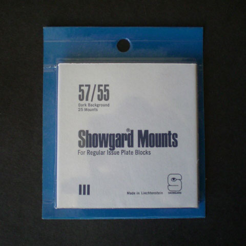 Showgard Mounts - 57/55, Black MAIN