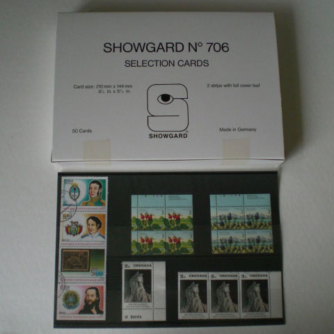 Showgard Approval Cards 706 100 ct Box