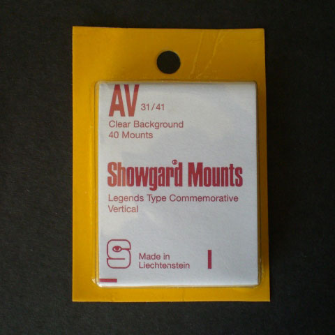 Showgard Mounts - AV Precut, Clear