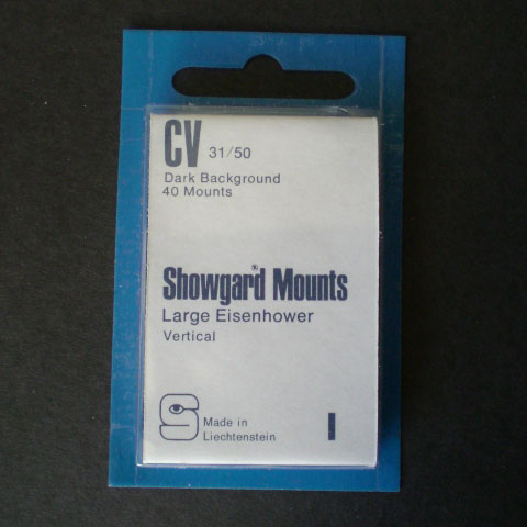 Showgard Mounts - CV Precut, Black