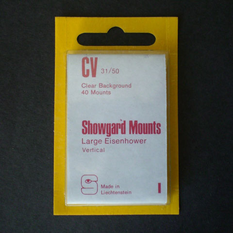 Showgard Mounts - CV Precut, Clear
