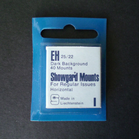 Showgard Mounts - EH Precut, Black