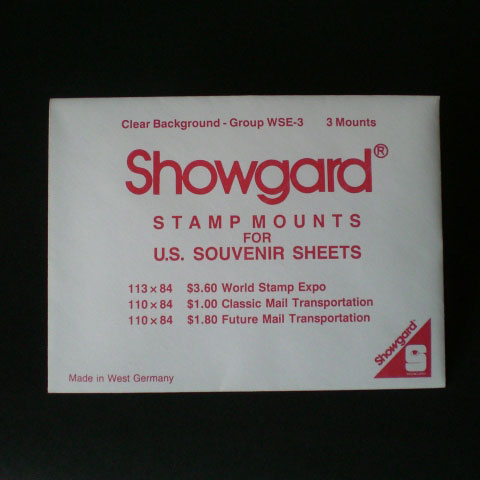 Showgard Mounts - WSE-3, Clear