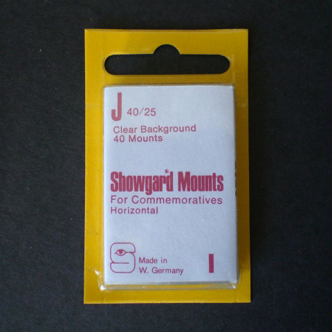 Showgard Mounts - J Precut, Clear