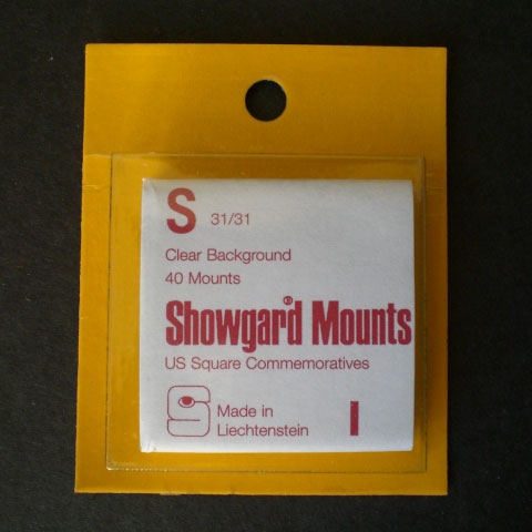 Showgard Mounts - S Precut, Clear