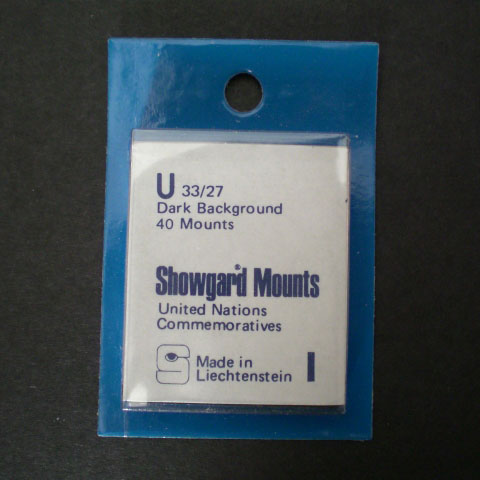 Showgard Mounts - U Precut, Black