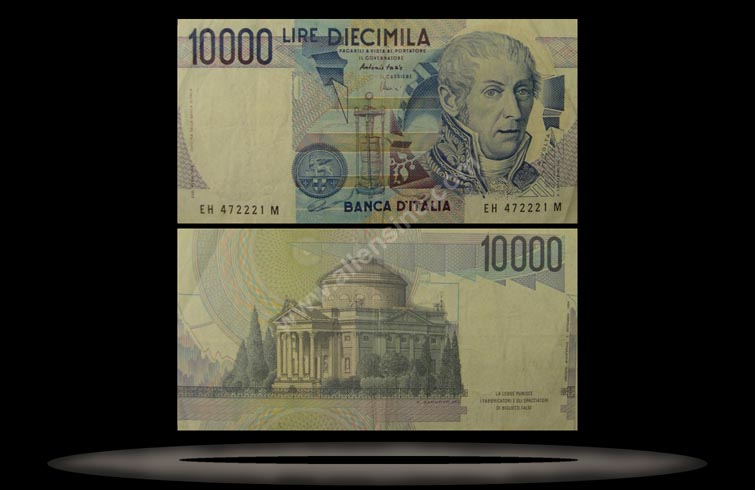 Italy Banknote, 10,000 Lire, 3.9.1984, P#112d MAIN