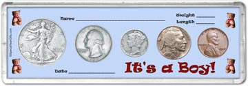 1936 It's A Boy! Coin Gift Set THUMBNAIL