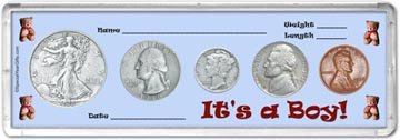 1938 It's A Boy! Coin Gift Set THUMBNAIL