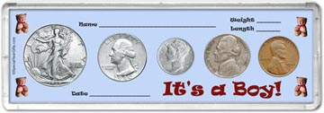 1940 It's A Boy! Coin Gift Set THUMBNAIL