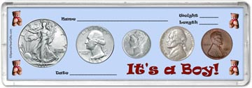 1941 It's A Boy! Coin Gift Set THUMBNAIL