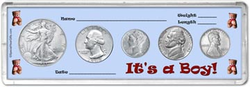 1943 It's A Boy! Coin Gift Set THUMBNAIL