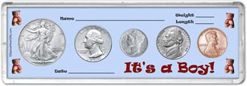 1944 It's A Boy! Coin Gift Set THUMBNAIL