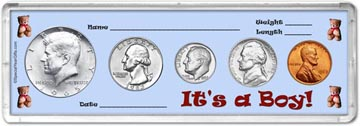 1965 It's A Boy! Coin Gift Set THUMBNAIL