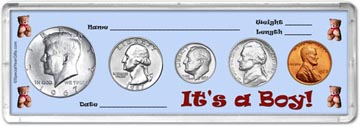 1967 It's A Boy! Coin Gift Set THUMBNAIL