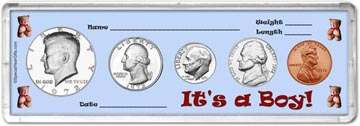 1972 It's A Boy! Coin Gift Set THUMBNAIL