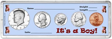 1974 It's A Boy! Coin Gift Set THUMBNAIL