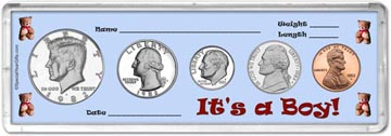 1982 It's A Boy! Coin Gift Set THUMBNAIL