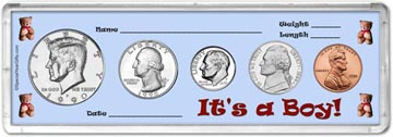 1990 It's A Boy! Coin Gift Set THUMBNAIL