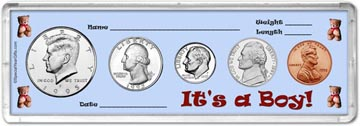 1995 It's A Boy! Coin Gift Set THUMBNAIL