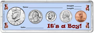 1999 It's A Boy! Coin Gift Set THUMBNAIL