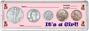 1936 It's A Girl! Coin Gift Set THUMBNAIL